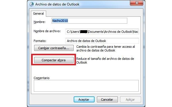 Compactar_outlook
