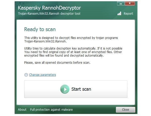 kaspersky_rannohdecryptor