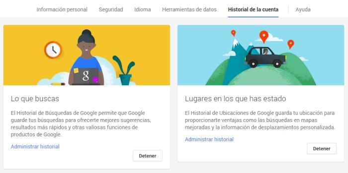 google-historial