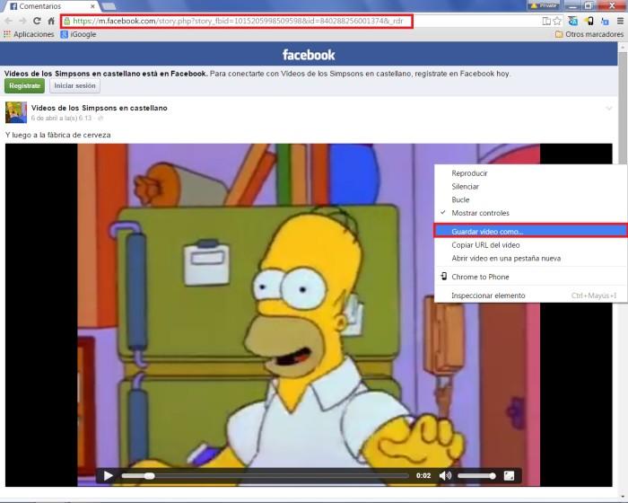 Descargar-vídeos-facebook
