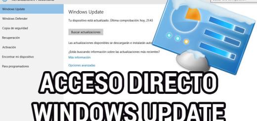 acceso-directo-windows-update