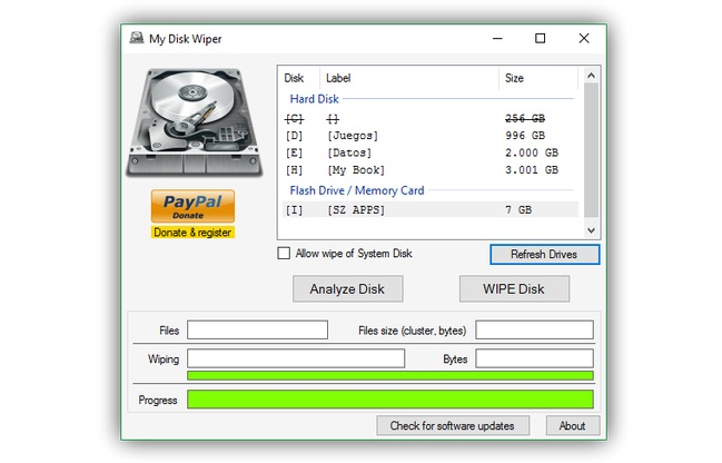 MyDiskWiper