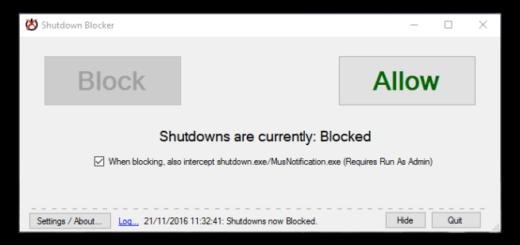 shutdownblocker
