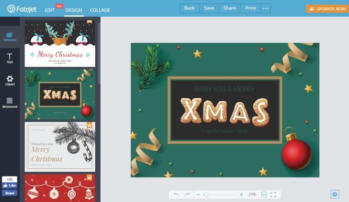 Montajes De Felicitaciones De Navidad.Fotojet Crea Montajes Y Felicitaciones De Navidad De Forma